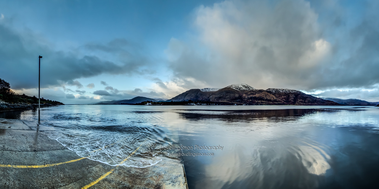 New Years Day 2013 on Loch Linnhe was remarkably still compared to the turbulent days that had preceded it!