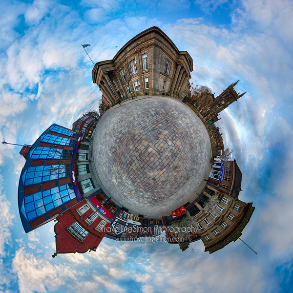 Macclesfield Planet Fisheye Version