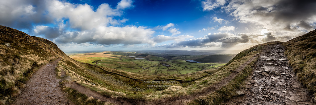 Pendle and Burnley Panorama