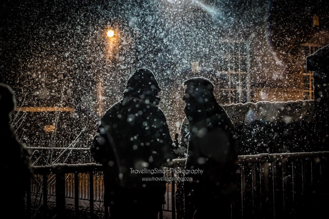 The Meeting in a Snowstorm