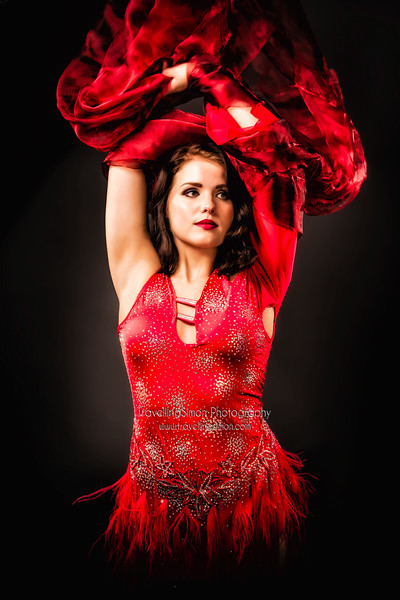The Dancer In Red