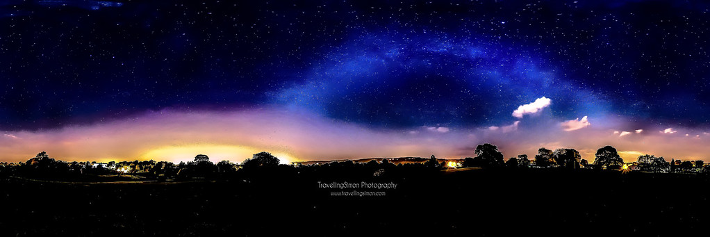 Milky Way over Macclesfield