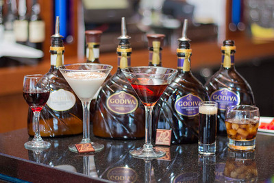 Godiva Dark Chocolate Liqueur Orlando Launch