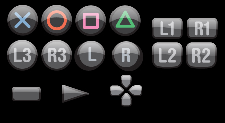 Button icons for help pop-up.