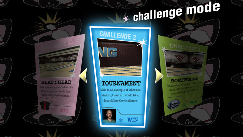 HVB Challenge Mode Menu Concept.