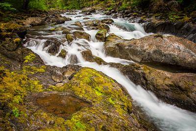 Salmon Cascades Sol Duc River
