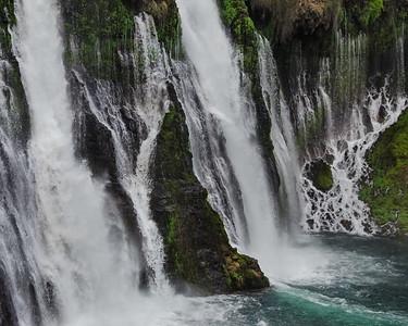 McArthur-Burney Falls in the northern California Cascades