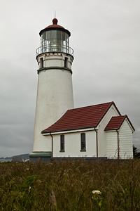 Cape Blanco Lighthouse on the Oregon Coast