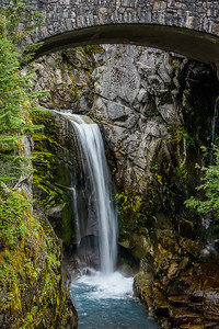 Christine Falls in Mount Rainier National Park Washington