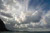 Afternoon clouds over Waimanalo Bay
