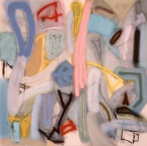 Amoonguan 1984, Oil on Canvas, 78X78 inches