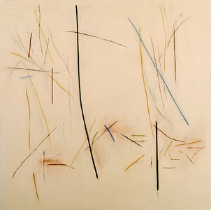 Untitled 1978, Oil on Canvas, 66X66 inches