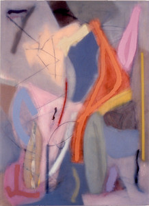 Stamness 1985, Oil on Canvas, 90X66 inches