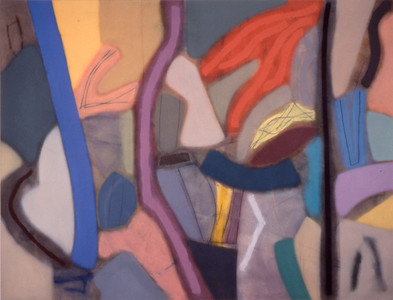 Fast Nell 1988, Oil on Canvas, 78X102 inches
