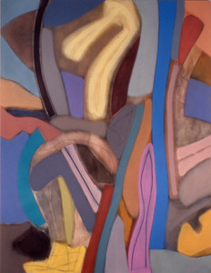 Band of Flirts 1988, Oil on Canvas, 102X78 inches
