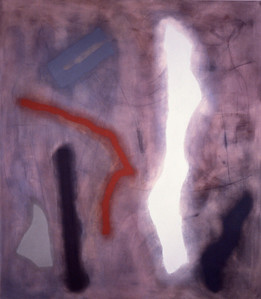 Banshee 1994, Oil on Canvas, 90X78 inches