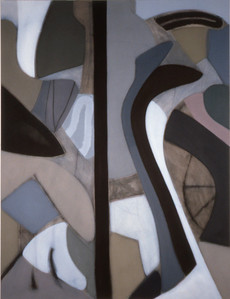 Rapunzel 1991, Oil on Canvas, 78X102 inches