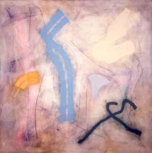 Dust 'n Light 1994, Oil on Canvas, 78X78 inches