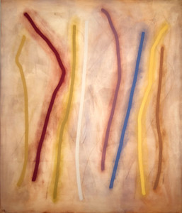 White Lady 2001, Oil on Canvas, 84X72 inches
