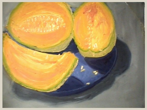 oil paint on paper canvas,  2002