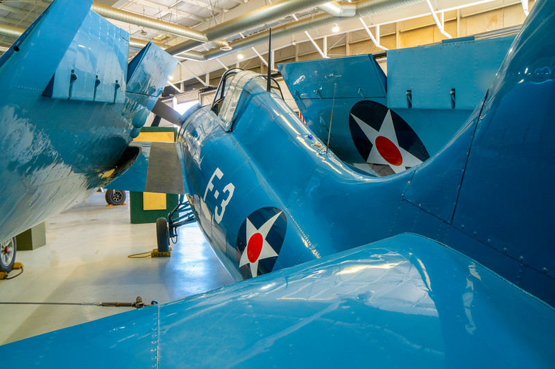 Grumman Wildcat on display at the Palm Springs Air Museum