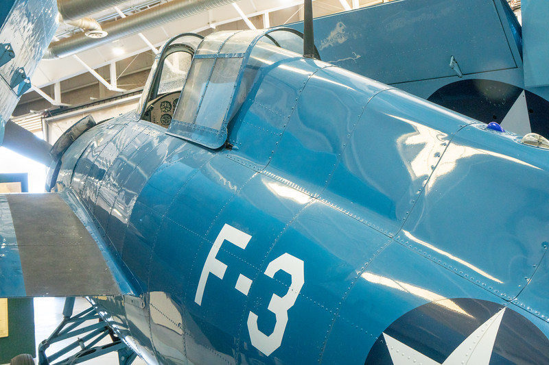 Close-up of Grumman Wildcat