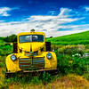 Old Yellow Pickup Truck-Palouse_Jun112013_1604