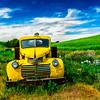 Old Yellow Pickup Truck-Palouse_Jun112013_1604
