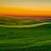 Sunset Near Moscow Idaho-Palouse Series
