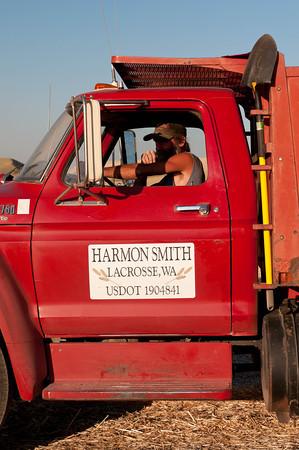 Grain Truck Driver - Palouse Wheat Harvest