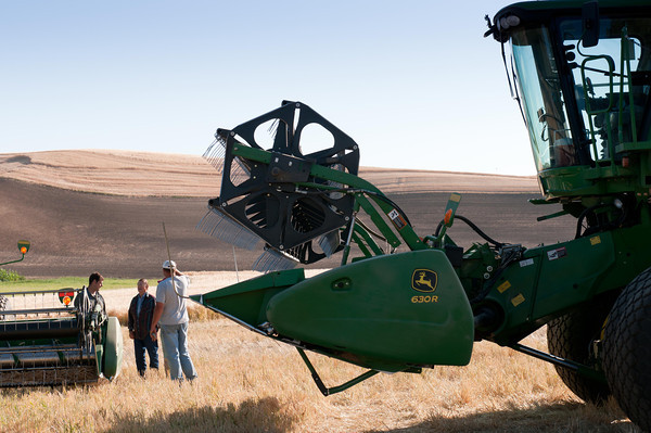 Morning Conference - Palouse Wheat Harvest