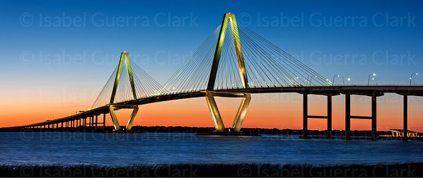 Ravenel Bridge Sunset, Charleston