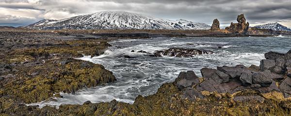 Icelandic Sea Scape