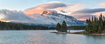 Two Jacks Lake Sunrise, Banff