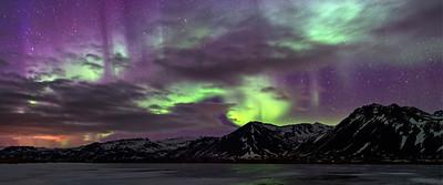 """Langaholt""""s Northern Lights, Iceland"""