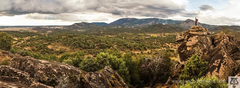 Vista desde el Canto Amarillo de Garciotum