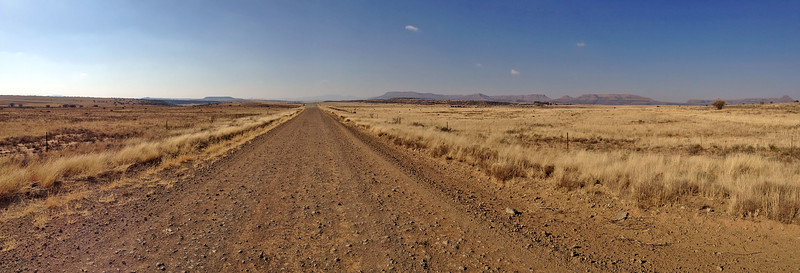 Road to Lady Grey, South Africa