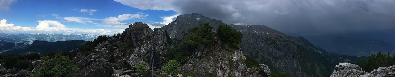 Panorama from the  Eagles Nest , Berchtesgaden Germany