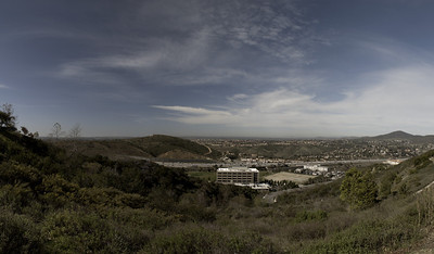 Suburban Canyon Panorama