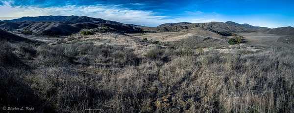 Above Hollenback Canyon Preserve
