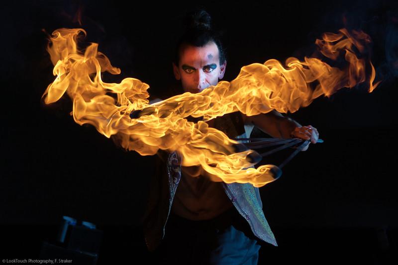 Fire stunts