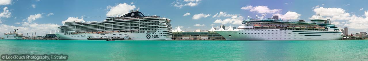 Port of Miami - the cruise ship terminal