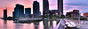 """DEEP ZOOM</br>The rising sun illuminating the skyline of Manhattan and Long Island City <span class='my-panorama' title='{  gallery: """"24360004_rhBLXw"""",  pano: """"p04-retouch_"""",  format: """"deepzoom"""",  tileSize: 512,  tileOverlap: 1,  width: 25000,  height: 2532 }'></span>"""