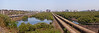 """View towards Bandra from the edge of Dharavi. <span class='my-panorama' title='{   gallery: """"24625076_FF9hg5"""",   pano: """"vp01_"""",   format: """"14faces"""",   pan: 0,   minpan: -180,   maxpan: 180,   tilt:0,   mintilt: -14.27905054322154,   maxtilt: 14.27905054322154,   fov: 90,   minfov: 5,   maxfov: 120,   autorotatespeed: 2,   autorotatedelay: 15,   maxiosdimension: 567,   showfullscreenbutton_flash: 1,   showfullscreenbutton_html: 1,   enablegyroscope: 1 }'></span>  The film Slumdog Millionaire has made this pair of huge pipes famous. Occasionally you see residents using this shortcut towards Bandra until in about 1km the pipes again vanish underground. For me this pipes stand for the dreams and ambitions of many Daharvi locals moving towards a better life by pursuing a sometimes unusual path."""