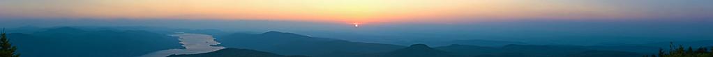 ~ Sunrise Panorama - The Birth of Sunrise ~