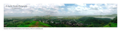 Pano image of Powai, Mumbai, India and its surroundings. This image is of the print size 2 feet by 12 feet.   http://photos.suchit.in/photos/143588568-O.jpg