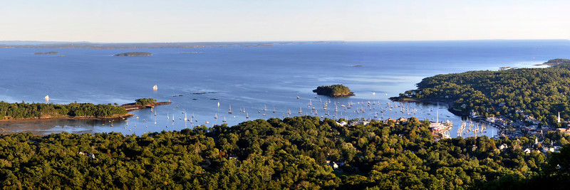 Camden Harbor and Penobscot Bay