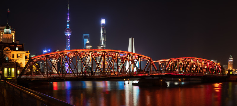 Waibaidu Bridge, Shanghai, China