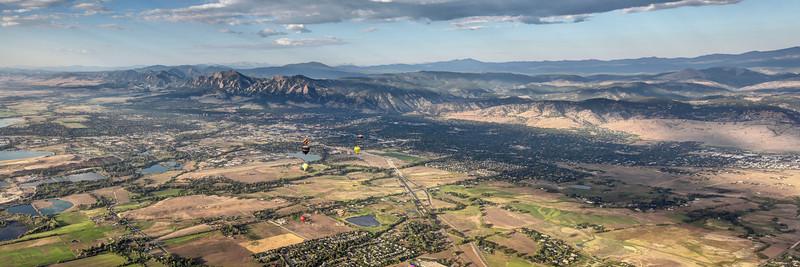 Boulder Balloons at Flatirons
