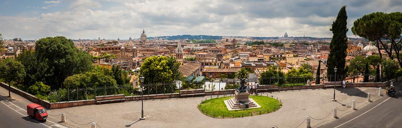 Terrazza Viale del Belvedere, Rome, Italy